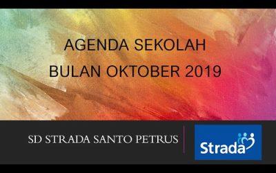 Agenda Sekolah Bulan Oktober 2019