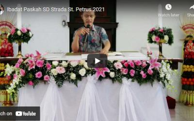 PERAYAAN PASKAH 2021 DISERTAI DENGAN LOMBA ANTAR SISWA – SD STRADA SANTO PETRUS